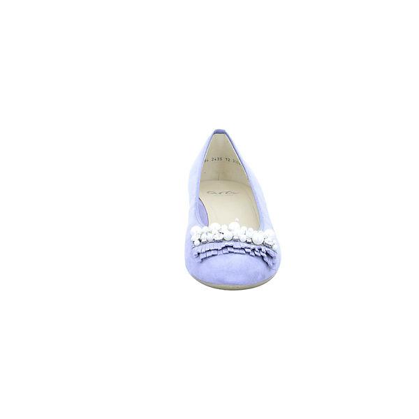 ara Gute Klassische Ballerinas blau  Gute ara Qualität beliebte Schuhe ae0b12