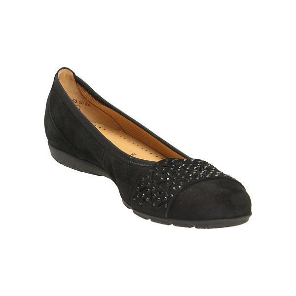 schwarz schwarz Klassische Klassische Gabor Gabor Ballerinas Gabor Ballerinas Klassische STwqz855