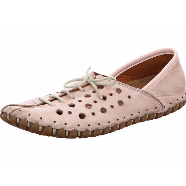 GEMINI Offene Halbschuhe rosa  Gute Qualität beliebte Schuhe
