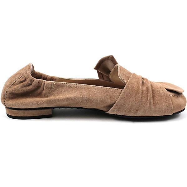 Kennel & Schmenger Faltbare Ballerinas beige  Gute Qualität beliebte Schuhe