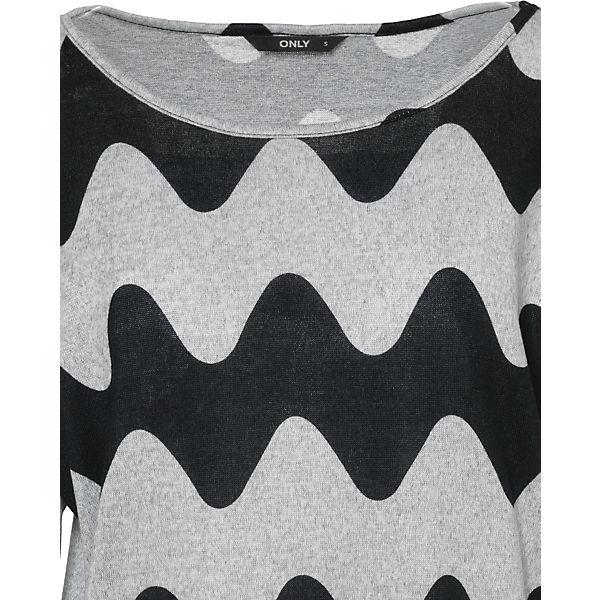 Shirt Arm ONLY hellgrau 3 4 tEpqwPp