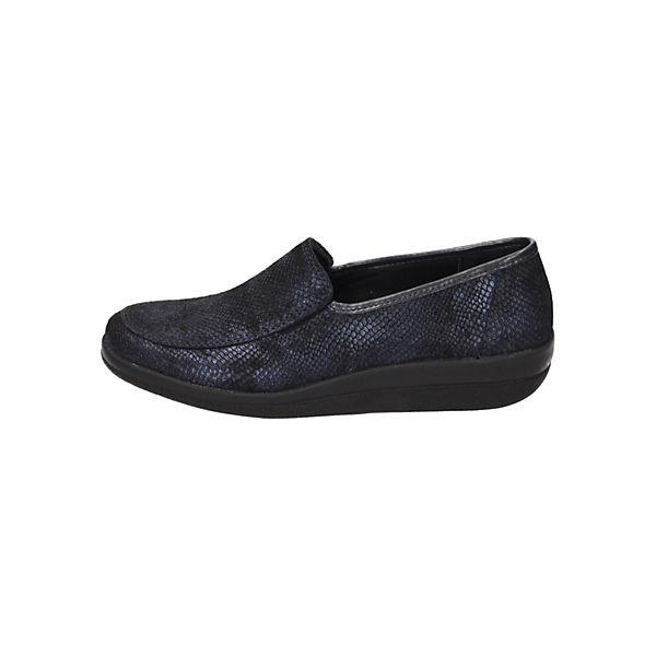 Comfortabel, Klassische Slipper, blau   blau  30d2f1