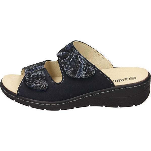Dr. Brinkmann, Qualität Pantoletten, blau  Gute Qualität Brinkmann, beliebte Schuhe f2628b