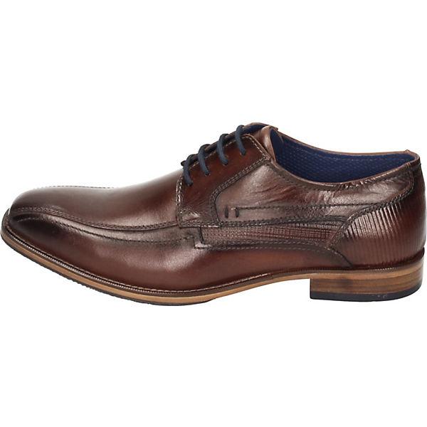 Manitu, Business-Schnürschuhe, braun  Gute Qualität beliebte Schuhe