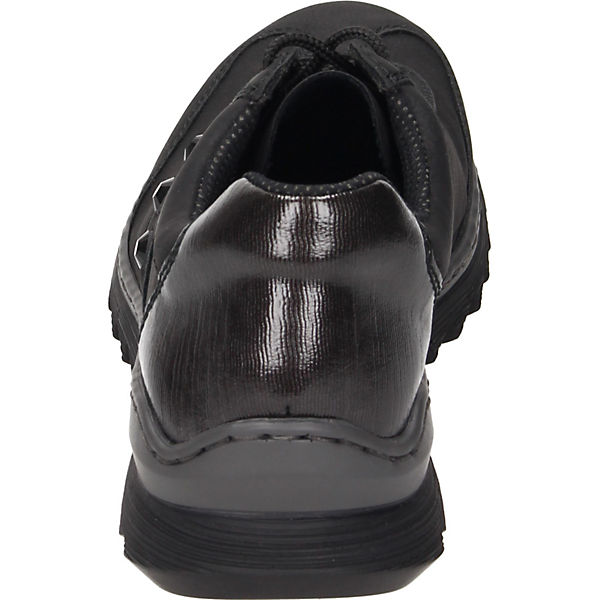 rieker, Schnürschuhe, Schnürschuhe, Schnürschuhe, schwarz   dea30d