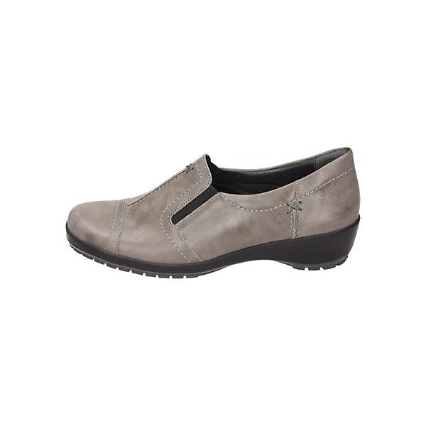 Comfortabel, Klassische Slipper, grau