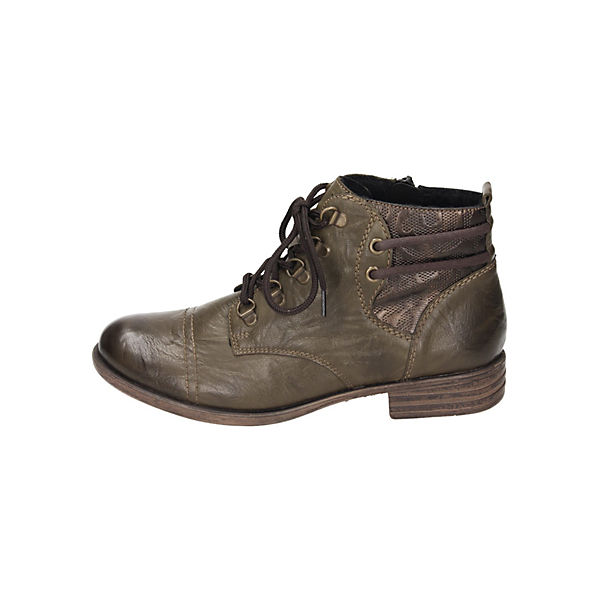 remonte, Schnürstiefeletten, beliebte grün  Gute Qualität beliebte Schnürstiefeletten, Schuhe ffe5e1