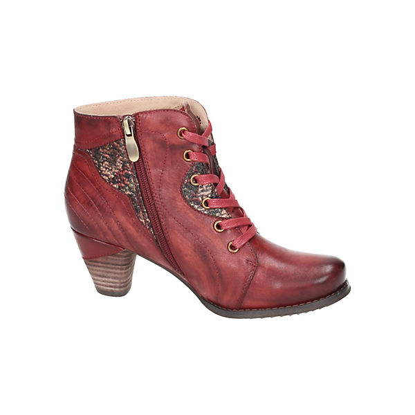 Manitu, Schnürstiefeletten, beliebte rot  Gute Qualität beliebte Schnürstiefeletten, Schuhe 603bfd