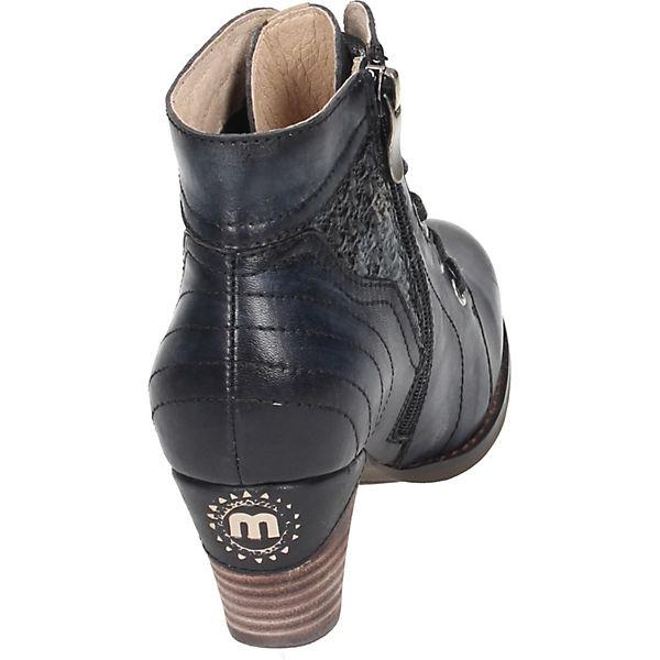 Manitu, Qualität Schnürstiefeletten, blau  Gute Qualität Manitu, beliebte Schuhe 150a95