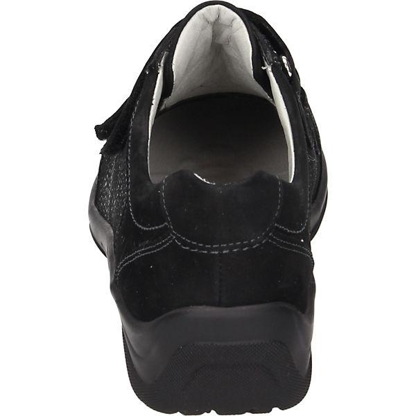 WALDLÄUFER Sportliche Slipper schwarz  Gute Qualität Qualität Qualität beliebte Schuhe ab3cb0