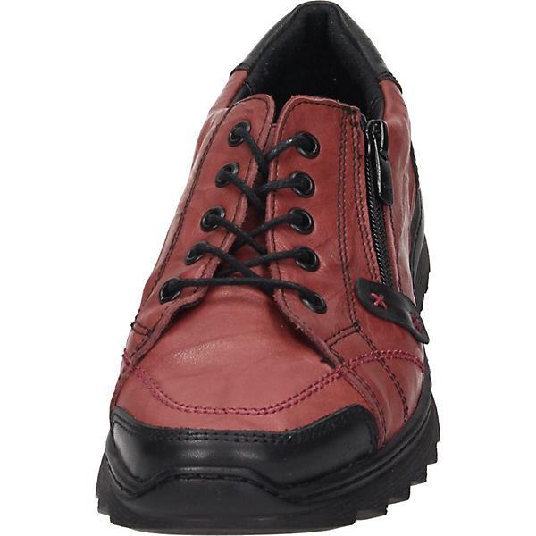 Schnürschuhe rot Comfortabel rot Comfortabel Comfortabel Schnürschuhe Schnürschuhe rot pvUYYx0