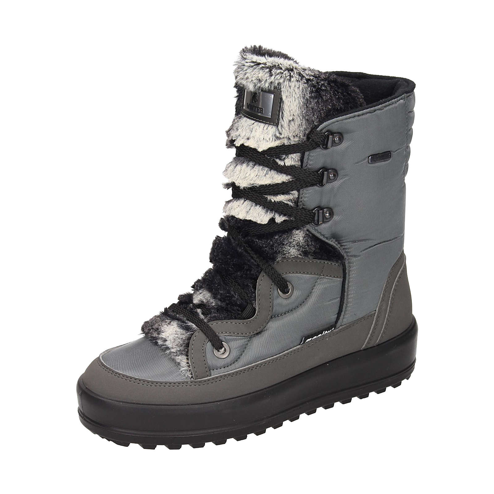 Polar-Tex Damen Snowboot Winterstiefel grau Damen Gr. 36
