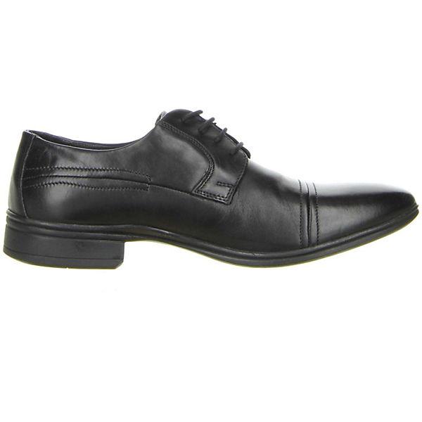 Klondike, Business-Schnürschuhe, schwarz     2471cb