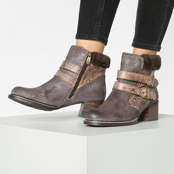 Laura  Vita, Klassische Stiefeletten, braun-kombi  Laura Gute Qualität beliebte Schuhe 1c21f6