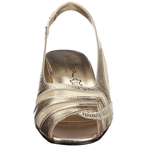 Vista, Sling-Pumps, beliebte gold  Gute Qualität beliebte Sling-Pumps, Schuhe da3ef1