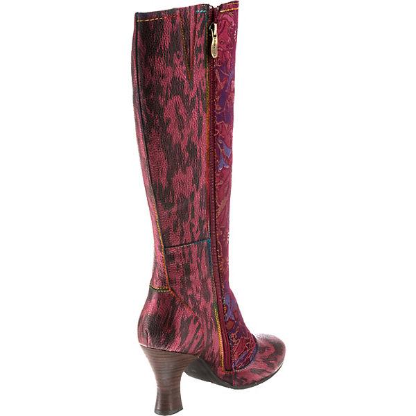 Laura Vita, Klassische Qualität Stiefel, rot-kombi  Gute Qualität Klassische beliebte Schuhe 4d4bdb