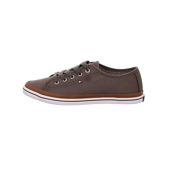 TOMMY HILFIGER, Gute Sneakers Low, khaki  Gute HILFIGER, Qualität beliebte Schuhe 1304c9