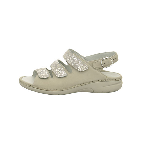 WALDLÄUFER Komfort-Sandalen beige  Gute Qualität beliebte Schuhe