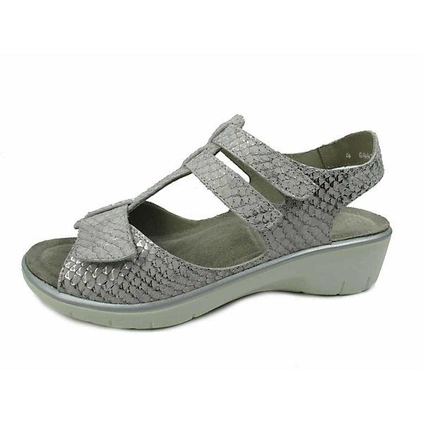 Solidus, Komfort-Sandalen, grau