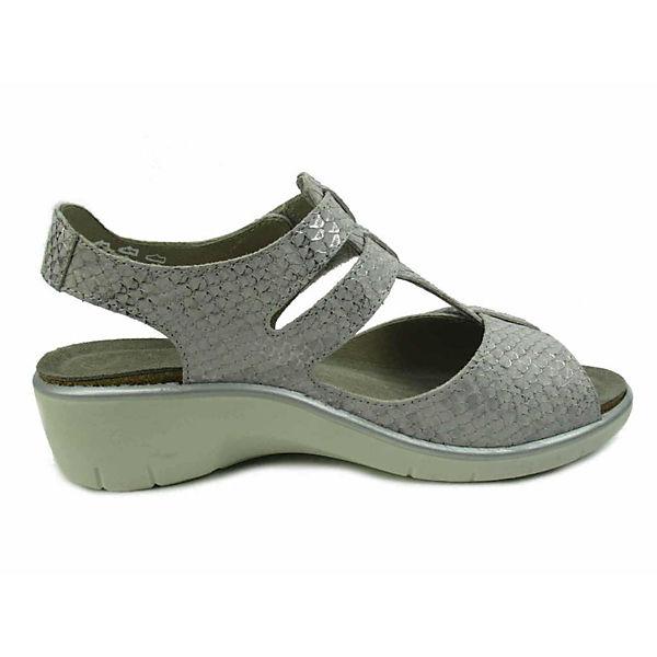 grau Solidus Sandalen Komfort Solidus Komfort zqqRBw