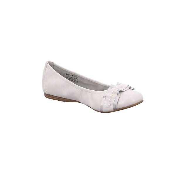 Tamaris, Klassische Ballerinas, Ballerinas, Ballerinas, weiß   e6746e
