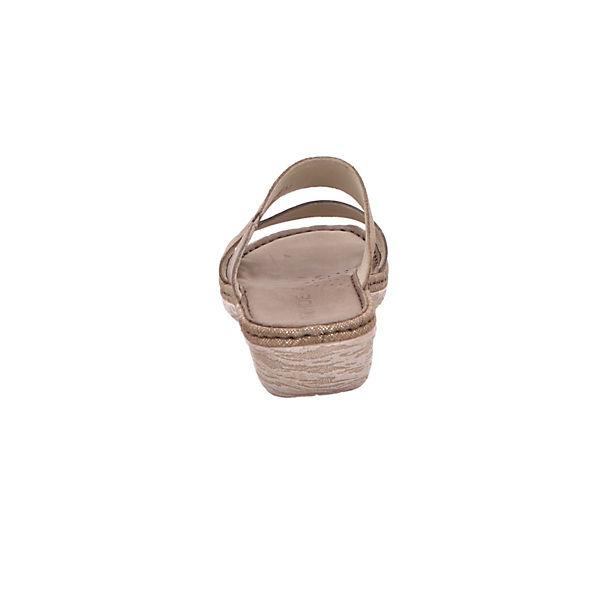 ROHDE, Pantoletten, beliebte beige  Gute Qualität beliebte Pantoletten, Schuhe 629f8a