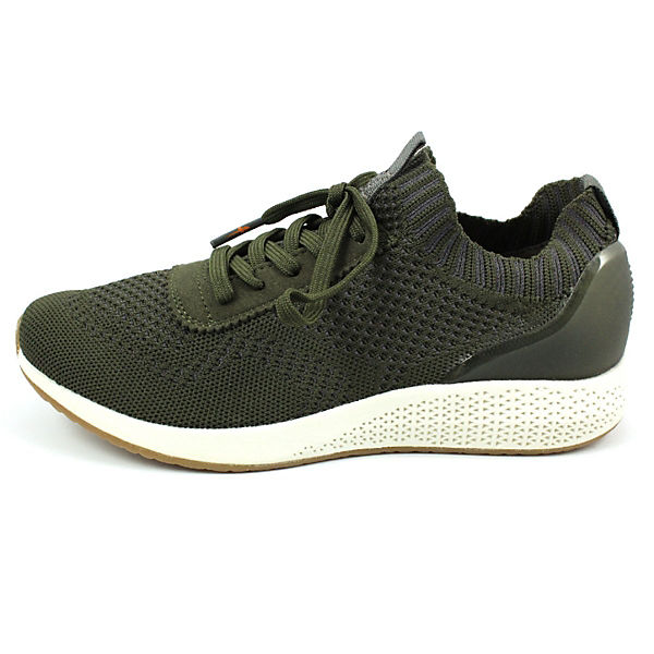 Tamaris, Sneakers Sneakers Tamaris, Low, grün   30a83a