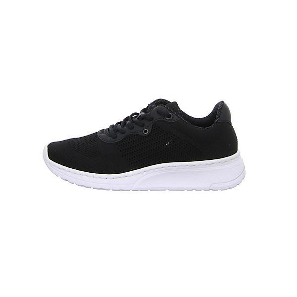 rieker, Sneakers Low, schwarz