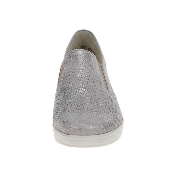 Semler, Klassische Slipper, grau     807e3f