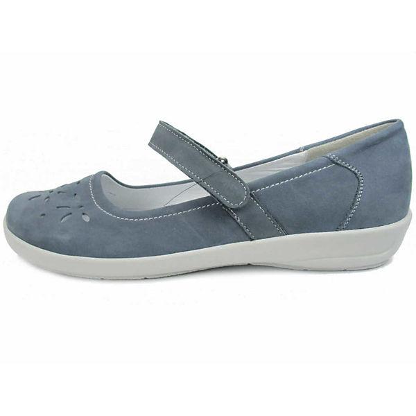 SKECHERS, Schnallenballerinas, blau  Gute Qualität beliebte Schuhe