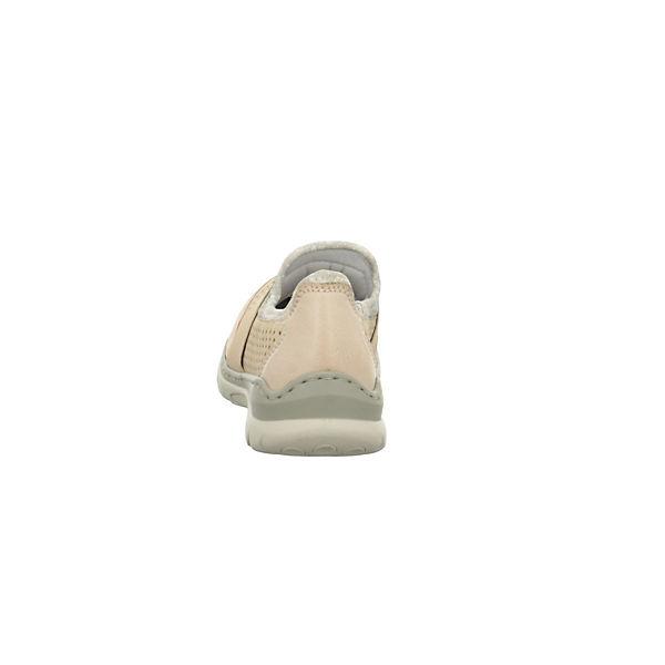 rieker, Klassische Gute Slipper, beige  Gute Klassische Qualität beliebte Schuhe f291c8