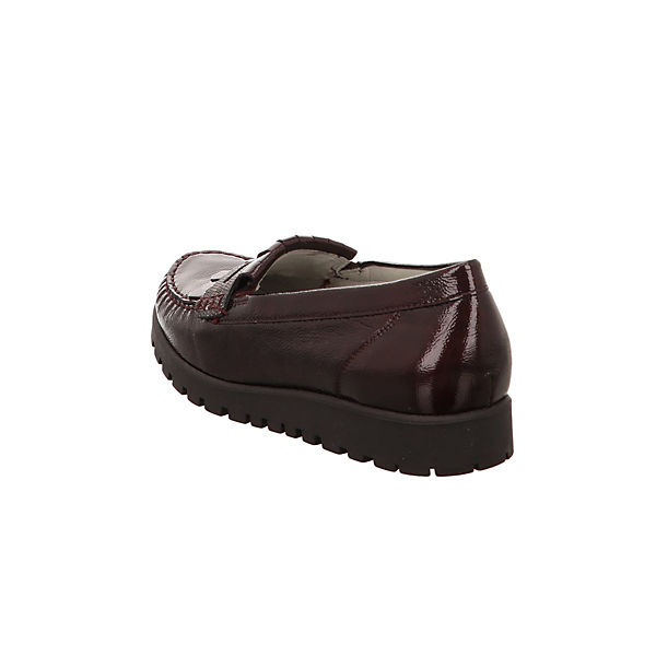 WALDLÄUFER, Loafers, dunkelrot  Gute Qualität beliebte Schuhe
