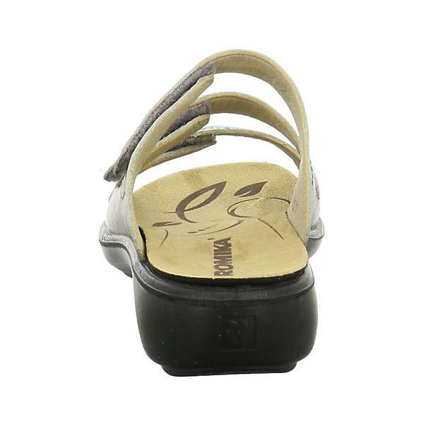 ROMIKA, Komfort-Pantoletten, silber Qualität  Gute Qualität silber beliebte Schuhe 0b371d