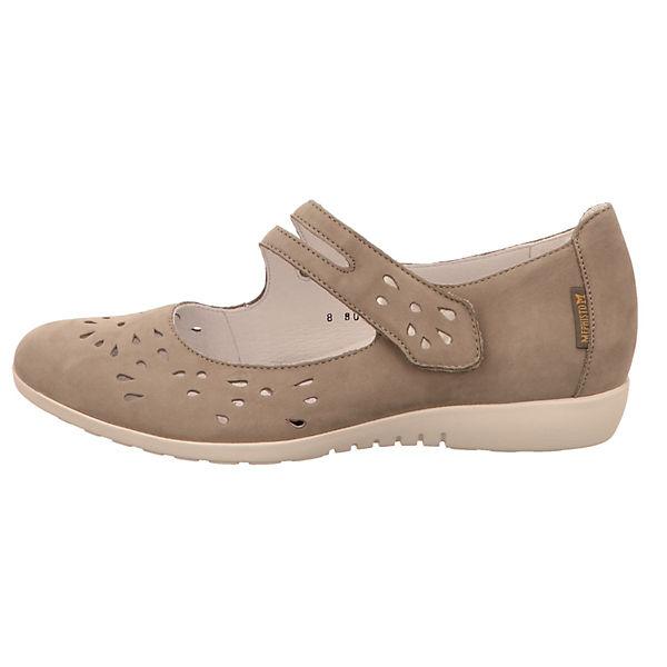 MEPHISTO, Schnallenballerinas, Schnallenballerinas, Schnallenballerinas, beige  Gute Qualität beliebte Schuhe e4ebb4