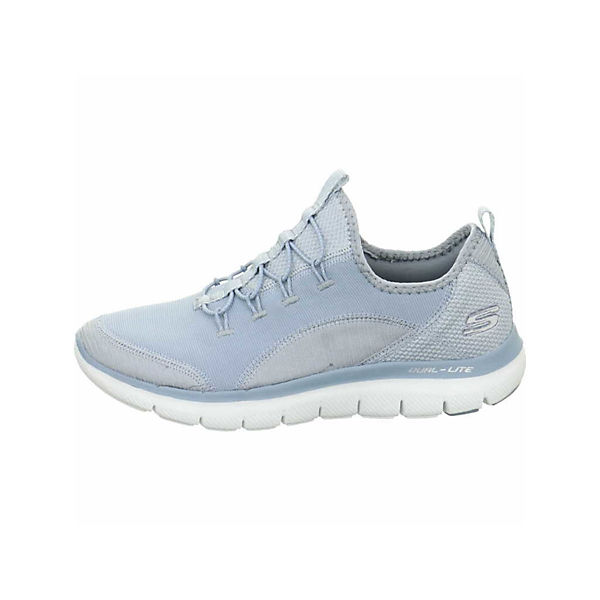 SKECHERS hellblau Low hellblau SKECHERS Low Sneakers SKECHERS Sneakers Low hellblau Sneakers SFx1BRwqx