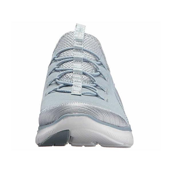SKECHERS, Sneakers Low, hellblau beliebte  Gute Qualität beliebte hellblau Schuhe ef51c9