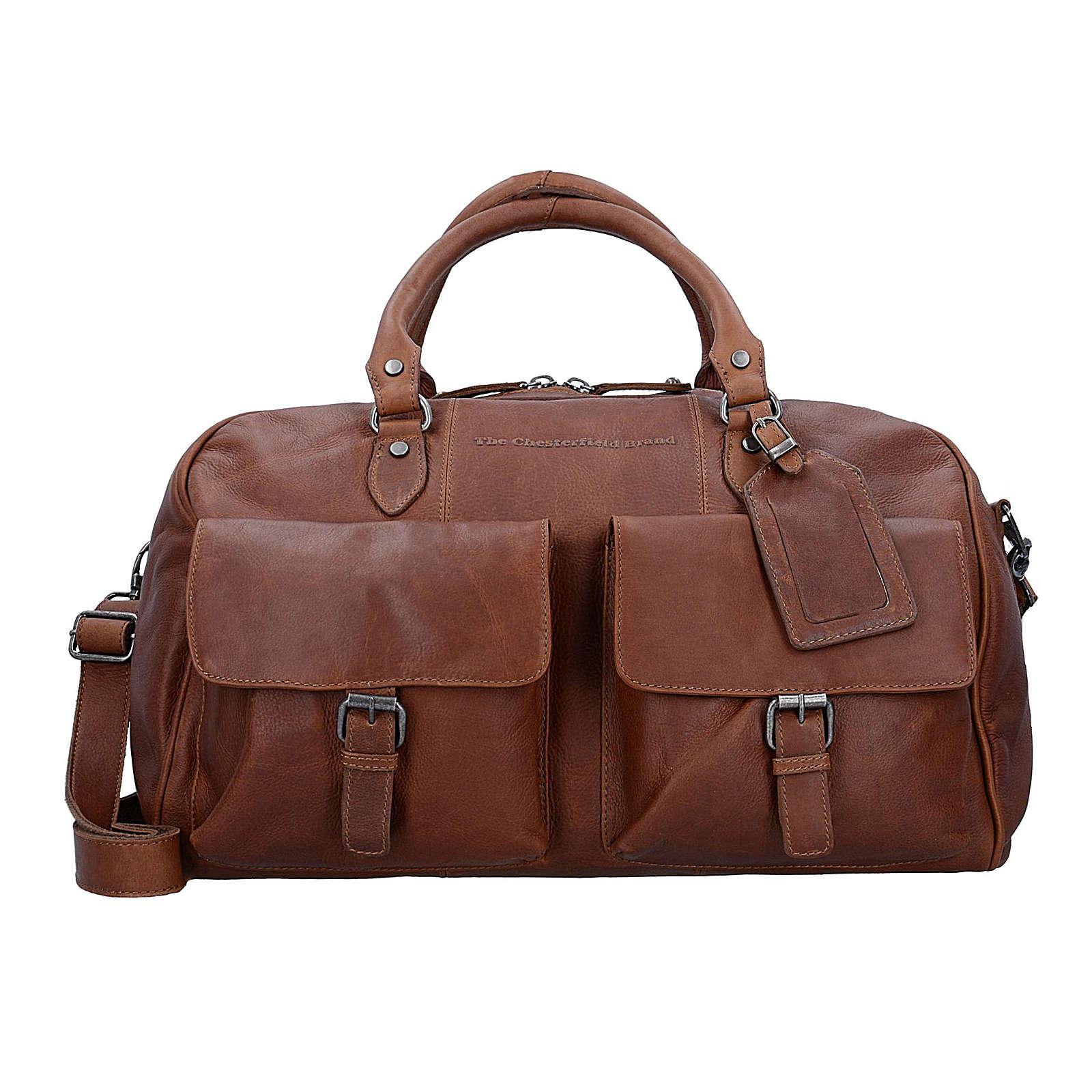 The Chesterfield Brand Wax Pull Up Wesley Weekender Reisetasche Leder 45 cm Reisetaschen braun Damen