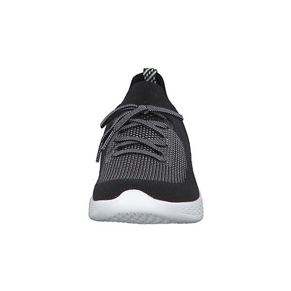 SKECHERS, You Shine 14957-BKW mit Schnürung Sneakers Low, schwarz/weiß Schuhe  Gute Qualität beliebte Schuhe schwarz/weiß 7f5a0d