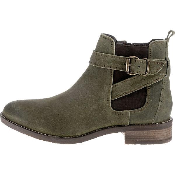 BULLBOXER, Chelsea Boots, grün Schuhe  Gute Qualität beliebte Schuhe grün a9ec42