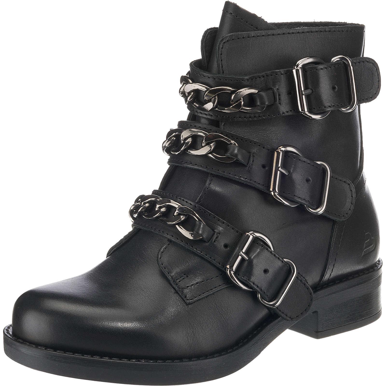 BULLBOXER Biker Boots schwarz Damen Gr. 39