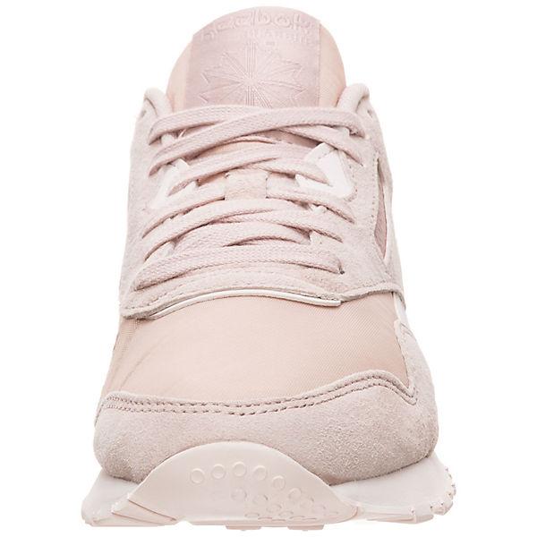 Reebok Classic, Classic Leather Nylon  Sneakers Low, beliebte beige  Gute Qualität beliebte Low, Schuhe 68fde2