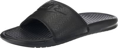 Nike Sportswear, Benassi JDI Pantoletten, schwarz