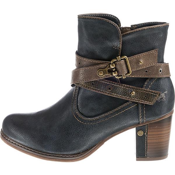 MUSTANG, Klassische Stiefeletten, Qualität dunkelblau  Gute Qualität Stiefeletten, beliebte Schuhe d09f6c