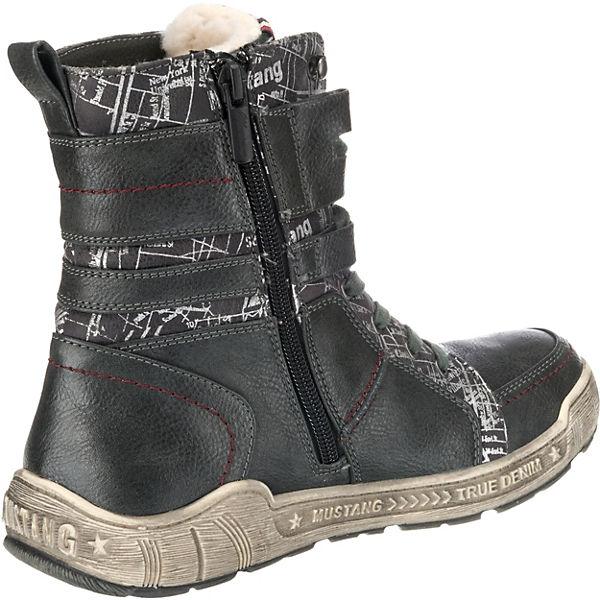 MUSTANG, Winterstiefeletten, dunkelgrau  Gute Gute Gute Qualität beliebte Schuhe 217e58