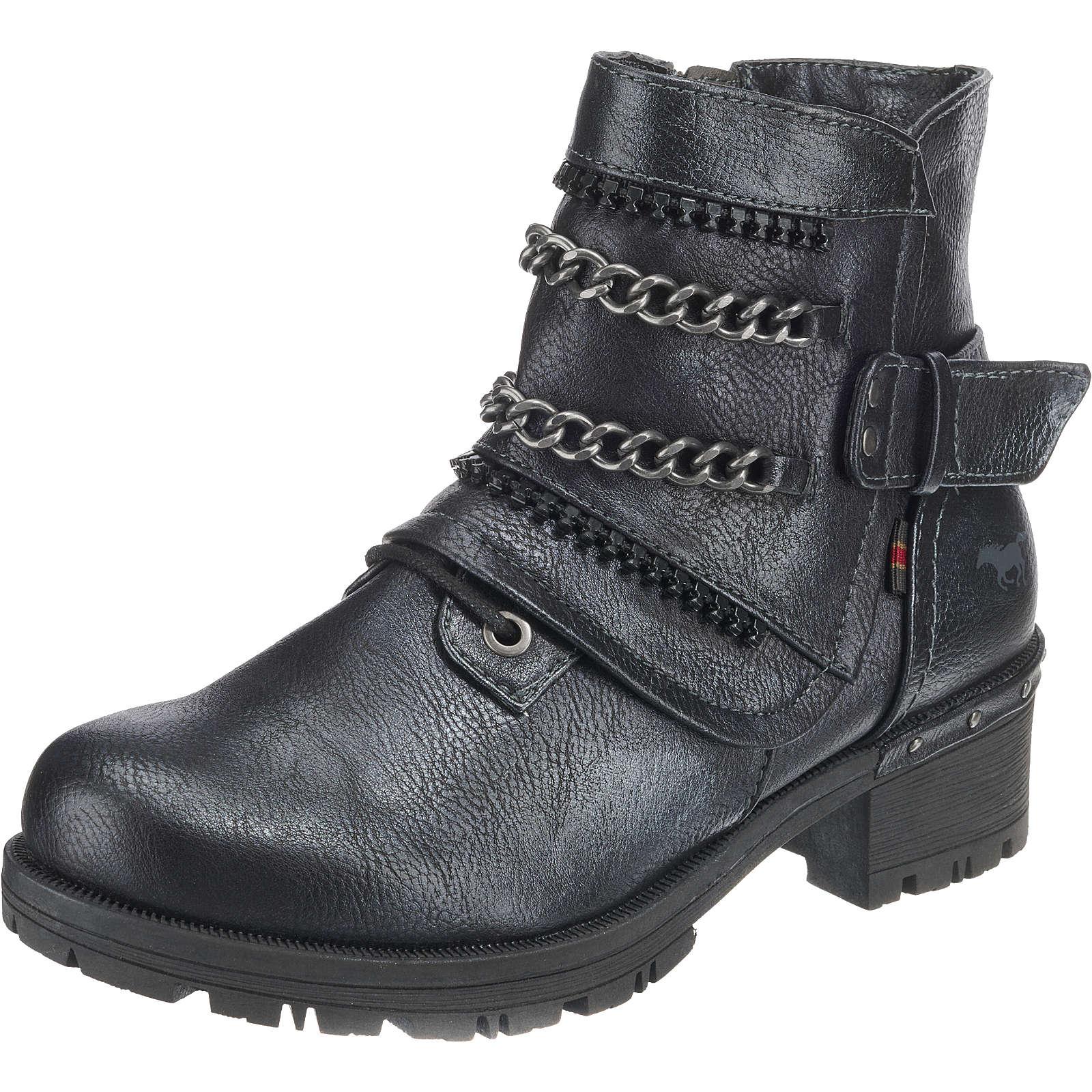 MUSTANG Biker Boots schwarz Damen Gr. 37