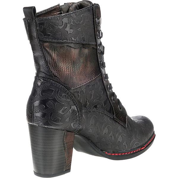 MUSTANG, MUSTANG, MUSTANG, Schnürstiefeletten, dunkelgrau  Gute Qualität beliebte Schuhe 52f88c