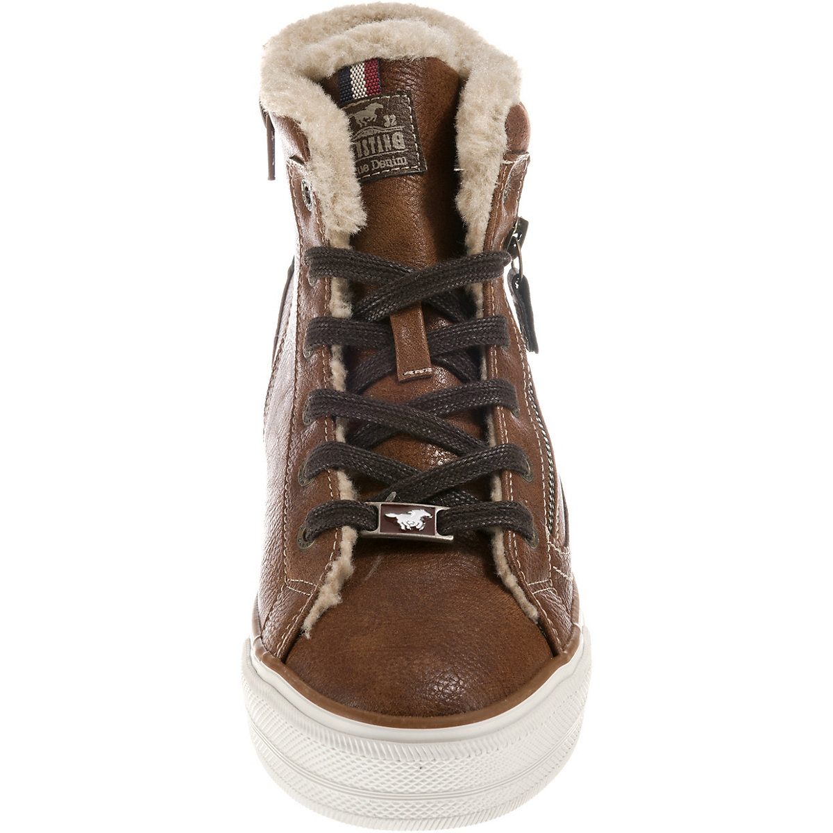 MUSTANG Sneakers High dunkelbraun