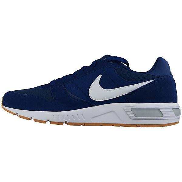 NIKE, NIKE blau/weiß NIGHTGAZER 644402-412 Sneakers Low, blau/weiß NIKE  Gute Qualität beliebte Schuhe 454ad5