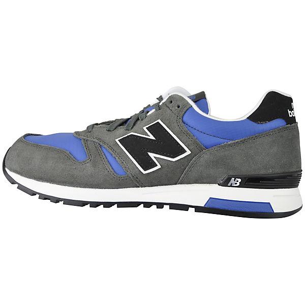 ML565AAB New balance new Low blau Balance grau Sneakers 4qt4x51w