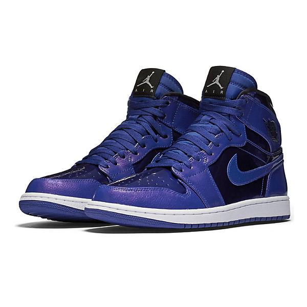 NIKE Nike AIR JORDAN 1 RETRO HIGH 332550-420 Sneakers High blau-kombi  Gute Qualität beliebte Schuhe